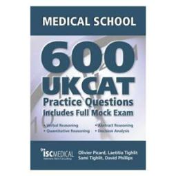 The 600 UKCAT book that Nixon found useful