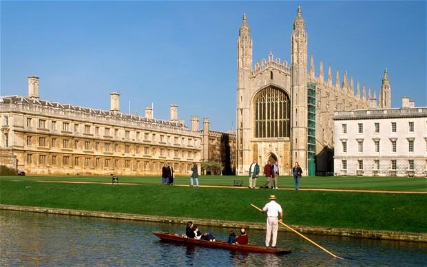 Breathtaking scenery in the University of Cambridge