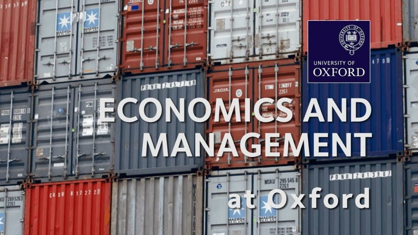 Oxford economics and management personal statement
